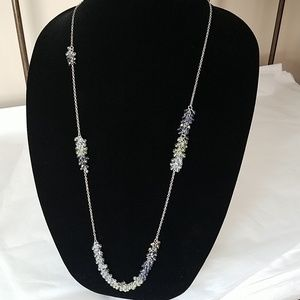 Coldwater Creek cluster bead necklace